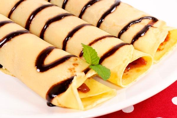 Hungarian's favourite dessert: palacsinta