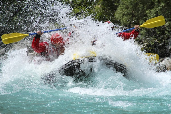 A perfect trip to the Soča Valley: a rafting experience