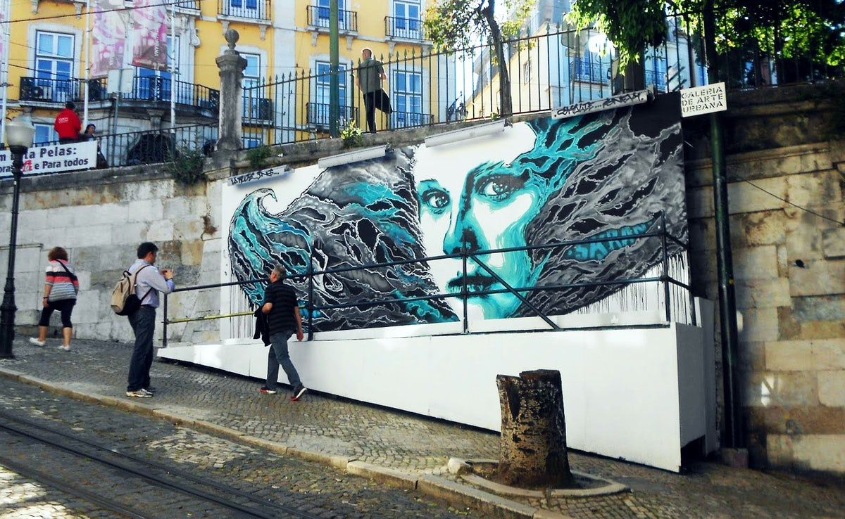 Urban Art in Lisboa 1: the trendy neighbourhoods
