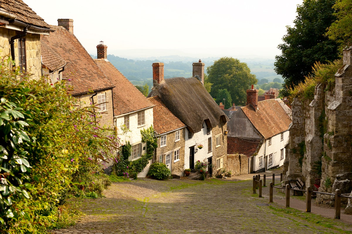 Tranquil Village Life in Shaftesbury