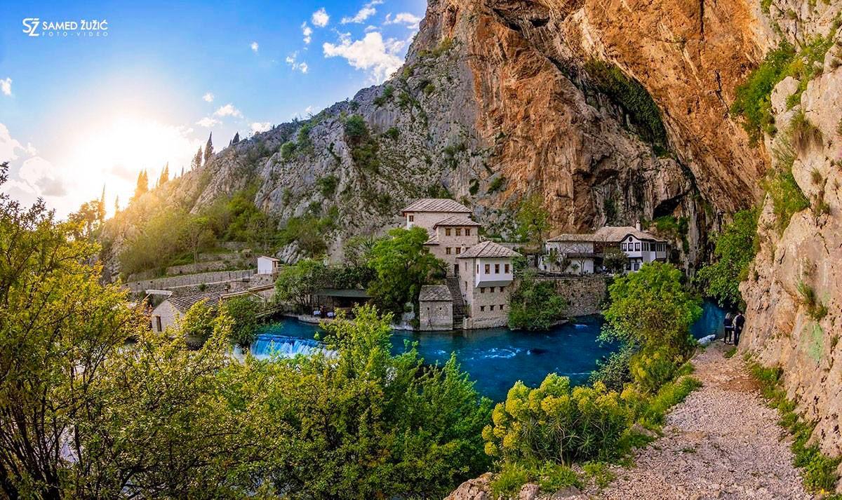 Where mystical meets stunning - Blagaj & Buna River Spring