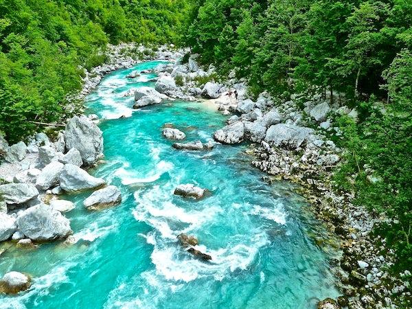Soča River - the beauty in blue