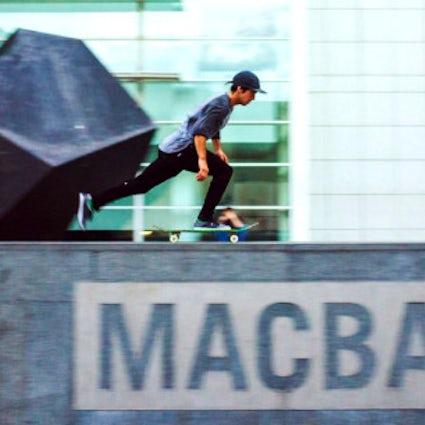 Is the skateboarding spot MACBA in Barcelona overrated?