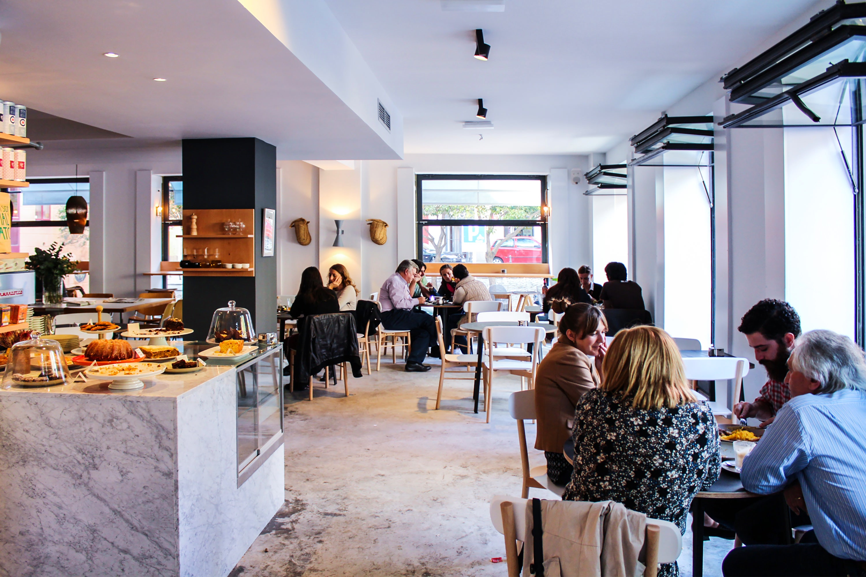 Workplace cafes in Madrid; Cafe Federal