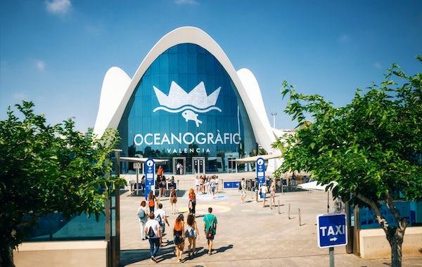 The largest aquarium in Europe - Valencia