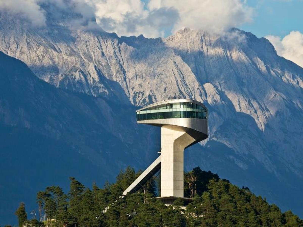 Zaha Hadid's Masterpiece in Innsbruck - Bergisel Ski Jump