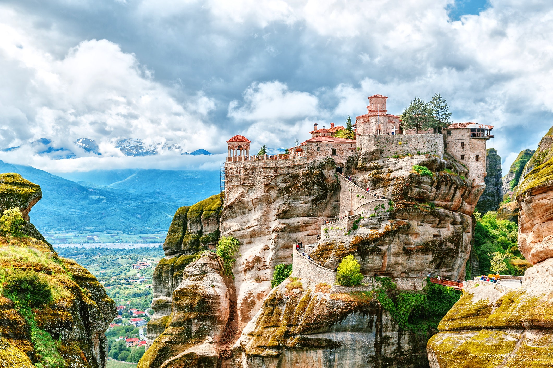 Meteora; the Suspended in the air Monastery