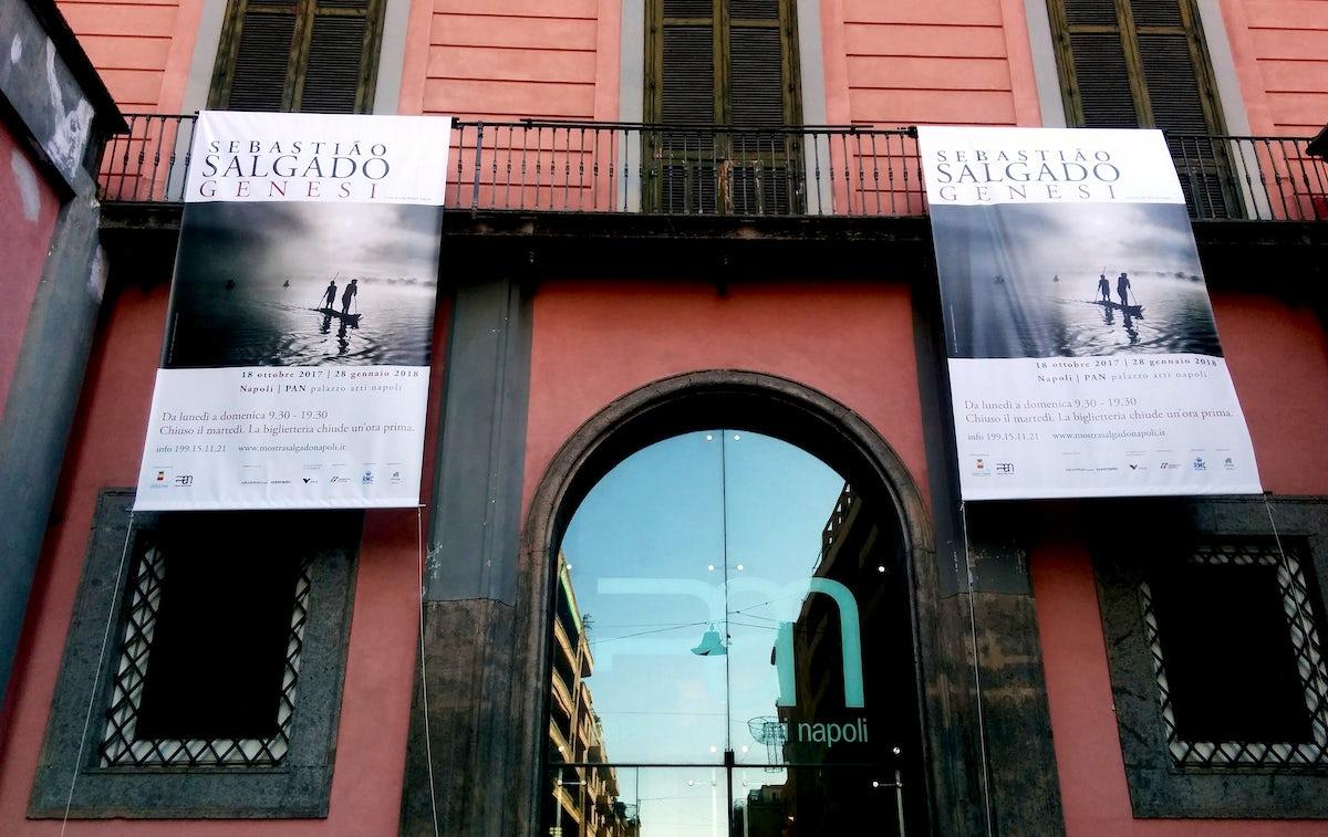 Sebastiao Salgado's exhibition