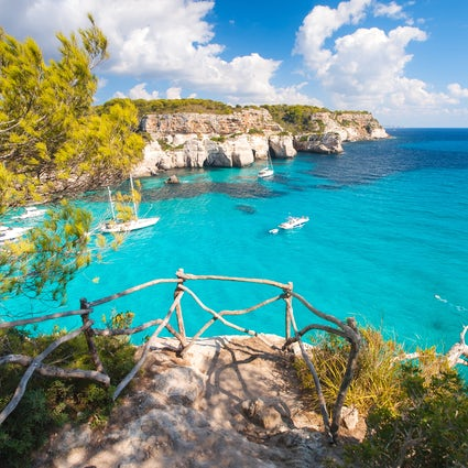 Menorca's greenblue beaches