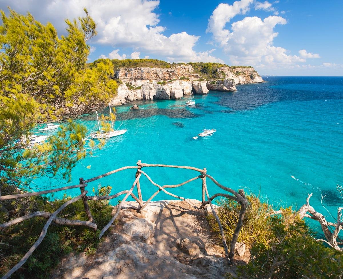 Menorca's greenblue beaches