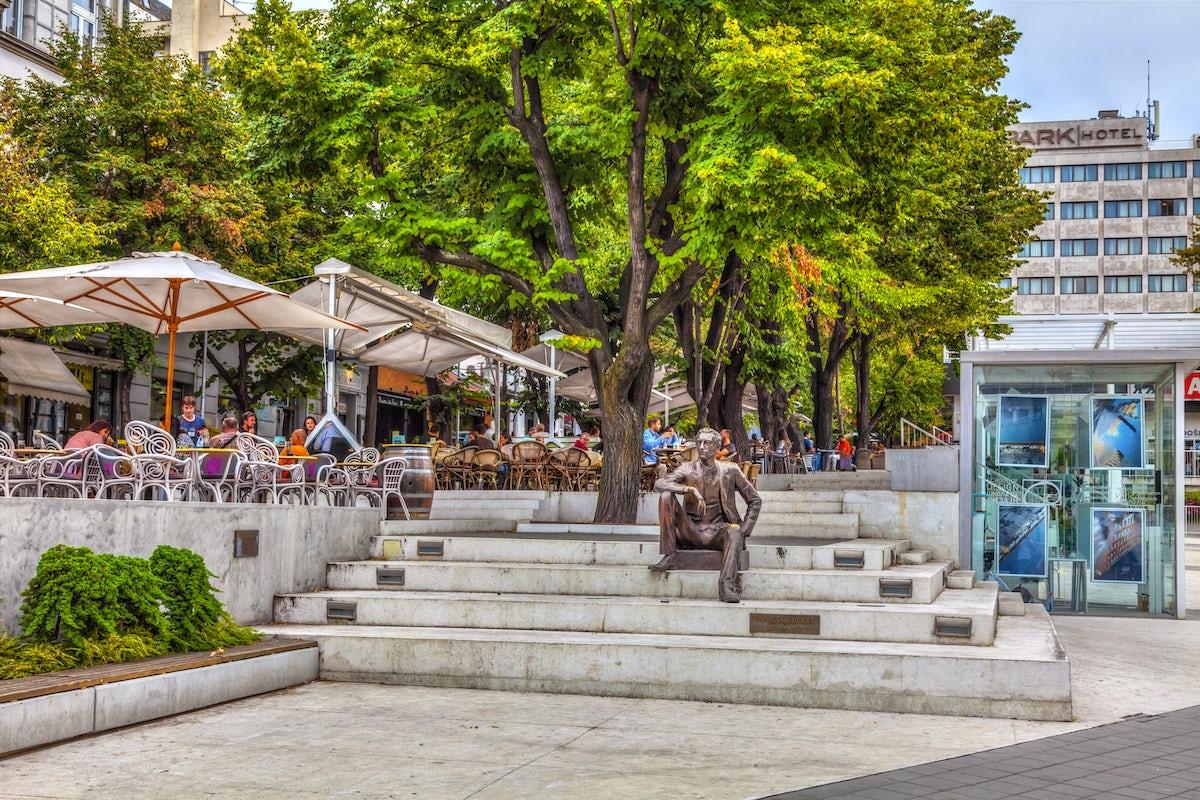 Cvetni Trg, flower square of Belgrade