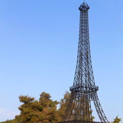 Where to find the Eiffel Tower in Greece