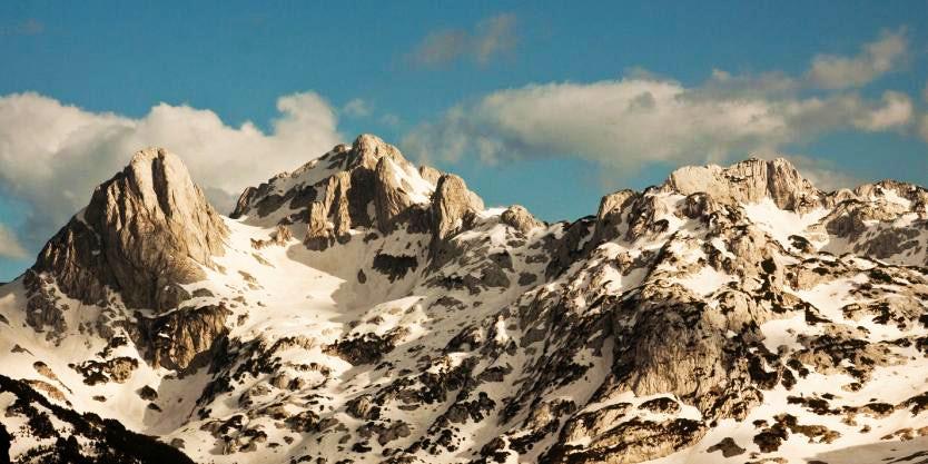 Hiking the Bosnian Himalayas