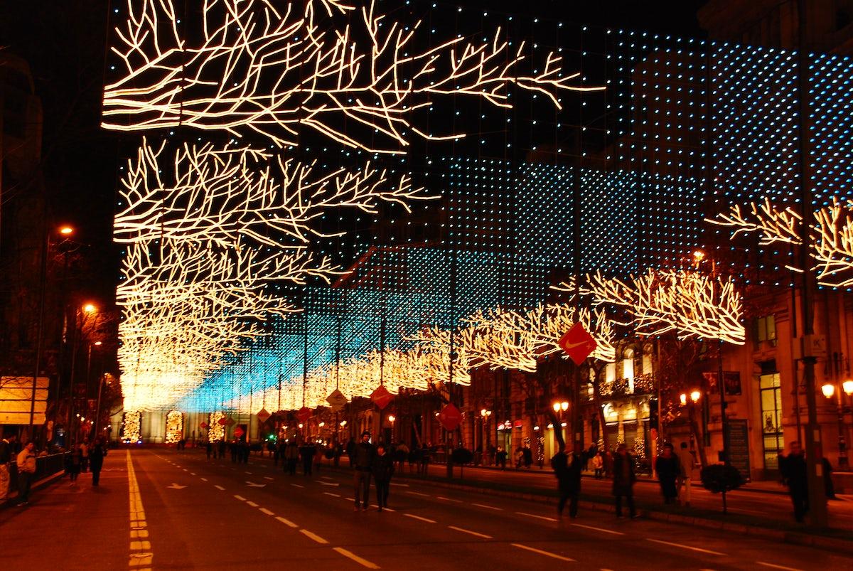 Christmas Spirit in Madrid