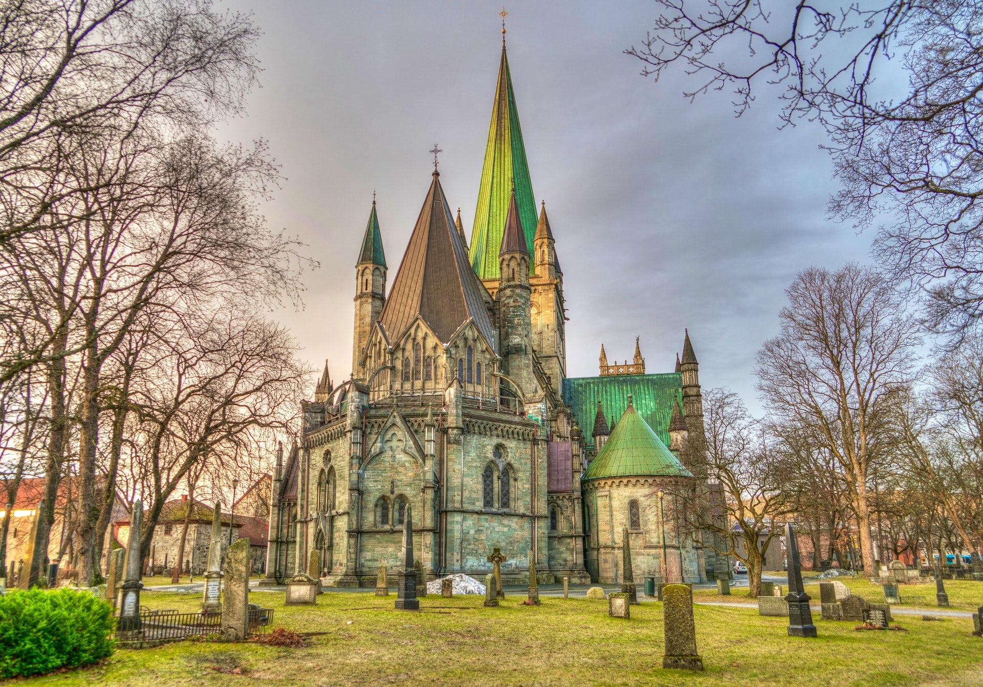 Trondheim - Viking king Olav's city