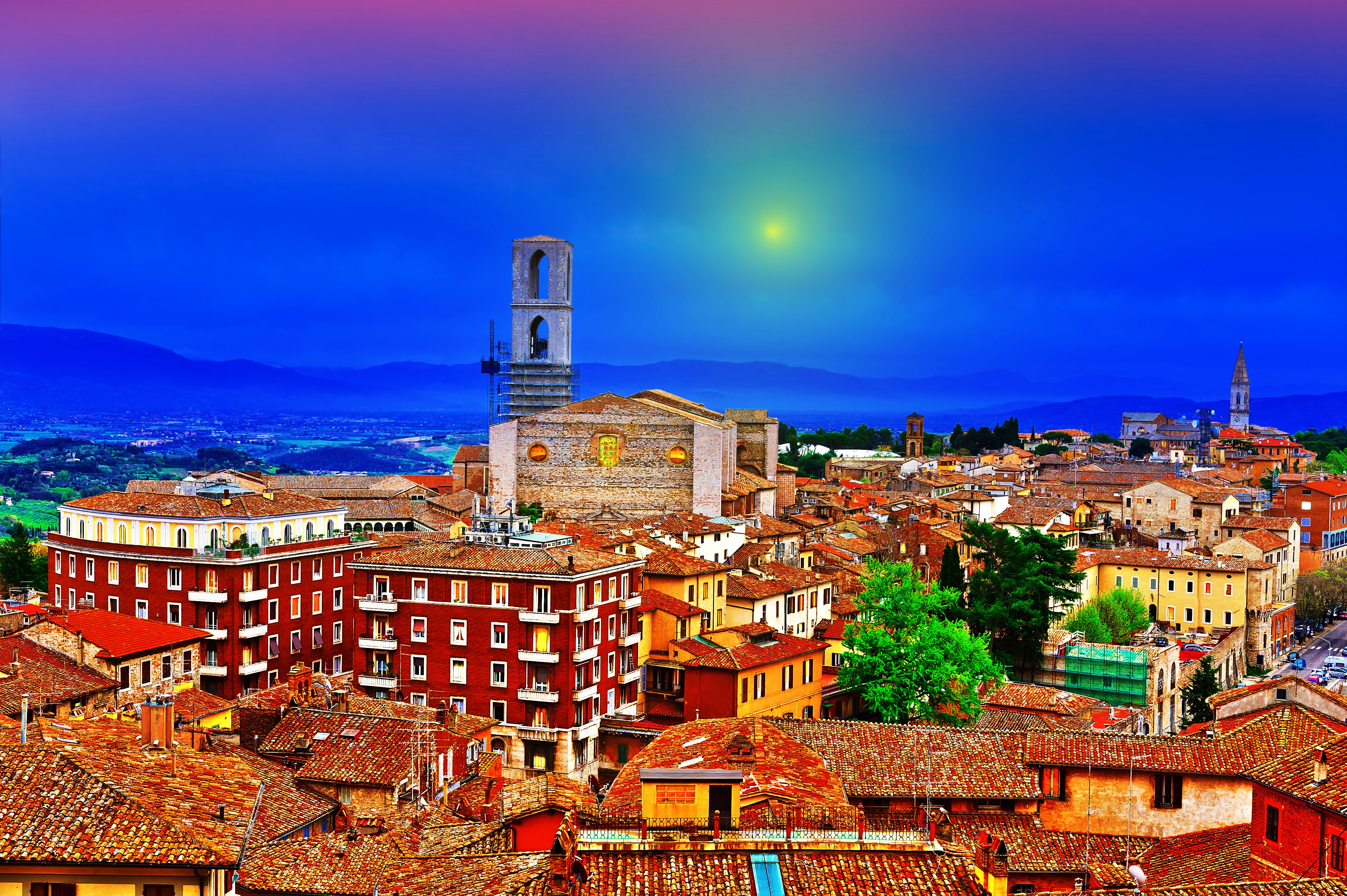 Perugia, one of Italy's hidden gems