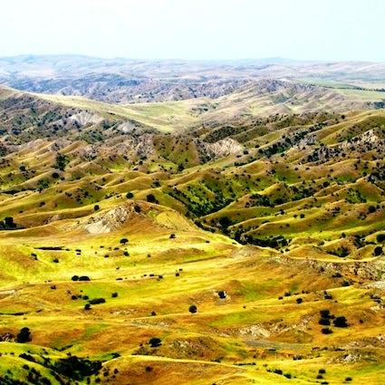 Vashlovani Nature Reserve – a landscape similar to Africa