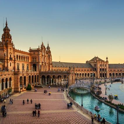 Squares of Seville