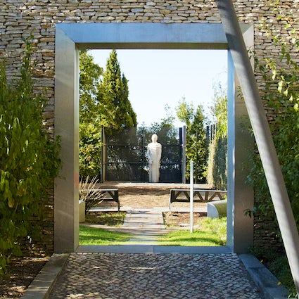 A garden of poets in Oeiras