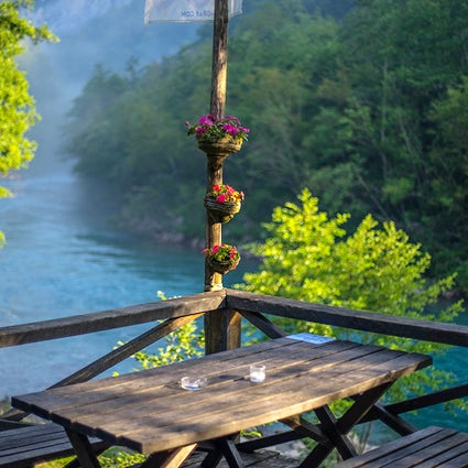 Ethno village Grab - a fairytale like environment