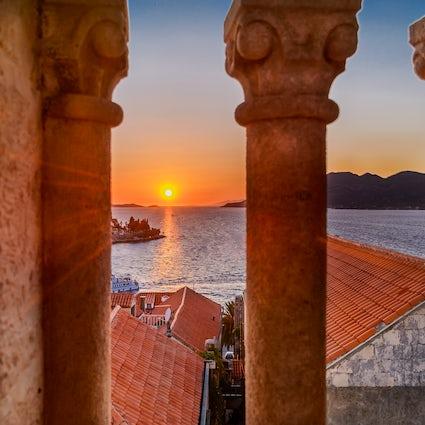 The island of Korčula - Marco Polo's birthplace