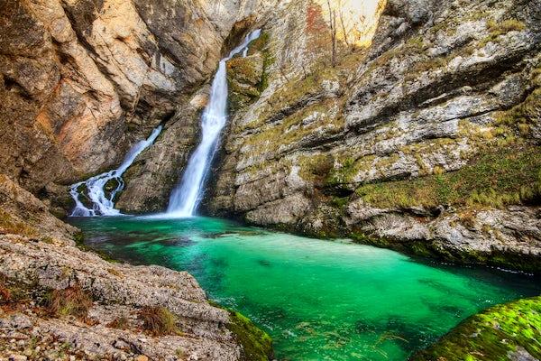 Savica Waterfall – a beautiful love story