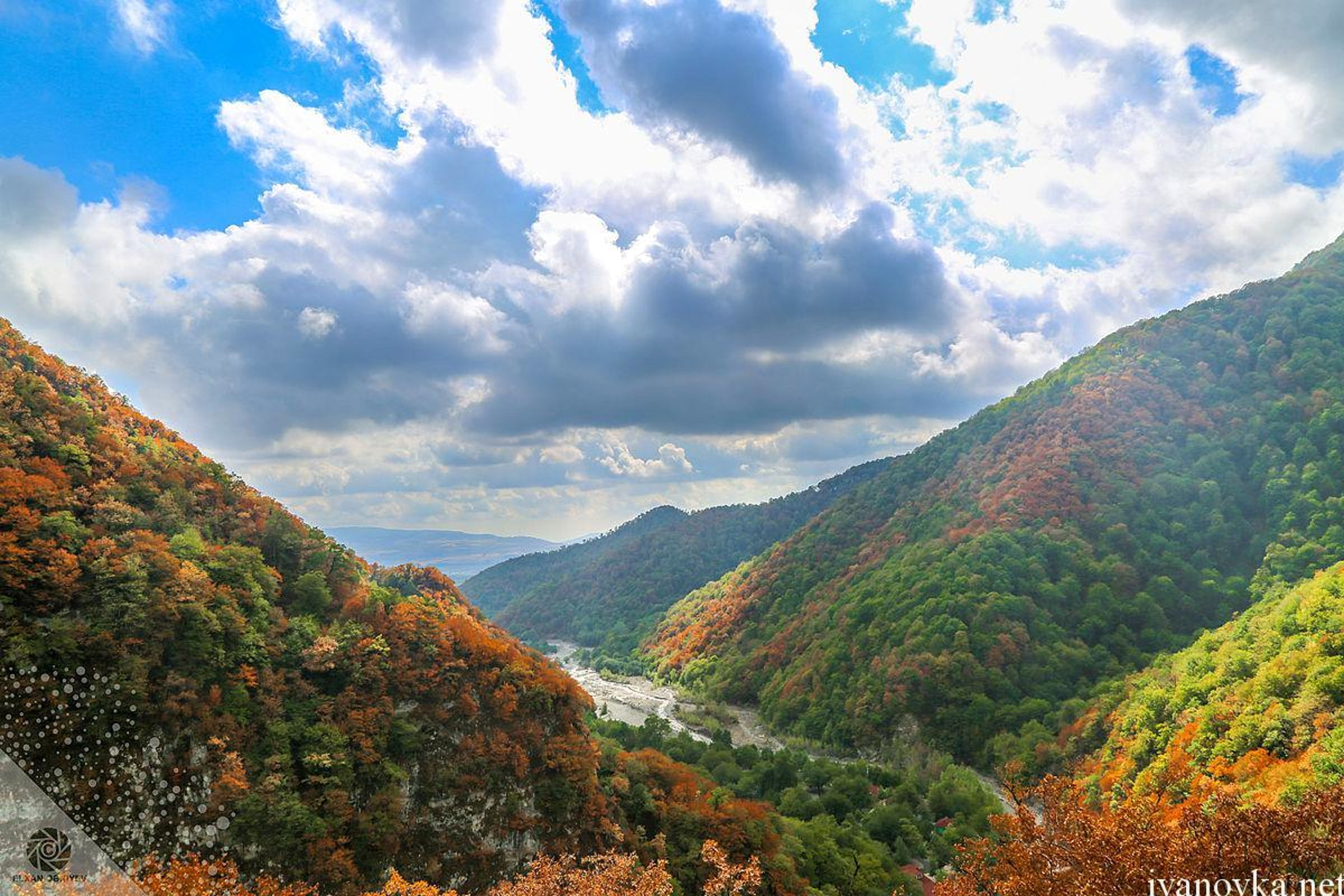 Colorful forests of Ismayilli