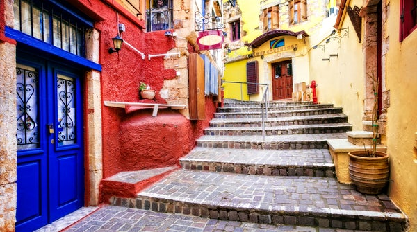 Your 3-day itinerary. Discover Crete; Venetian influenced city centers!