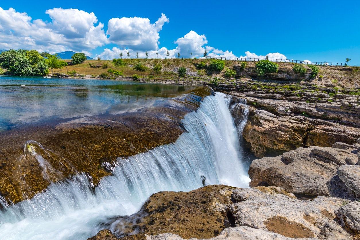 Cijevna - Montenegrin Colorado Canyon and Niagara Falls