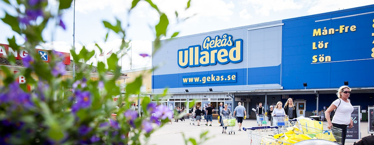Where Swedish people go to shop - Ullared