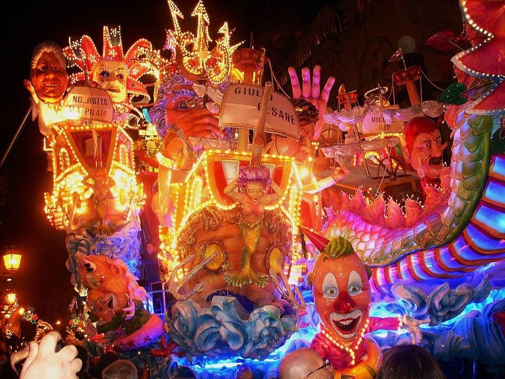 The Carnival in Italy