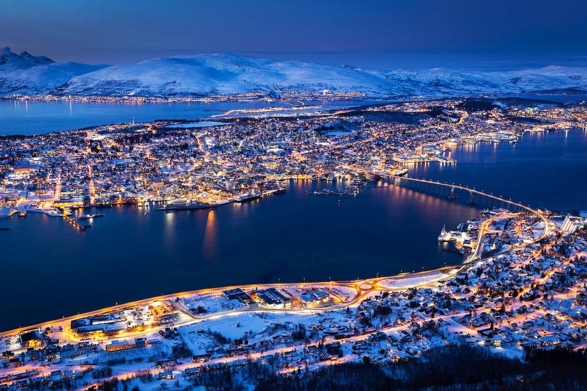 The 5 senses visit Tromsø