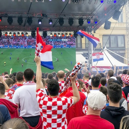Where to watch the grand finale of the Croatian football fairytale