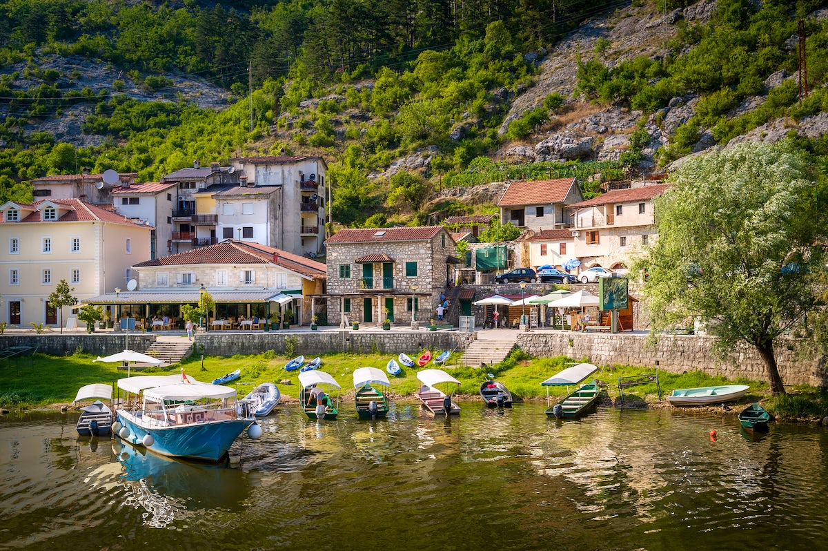 Rijeka Crnojevića - a peaceful traditional place with delicious national cuisine