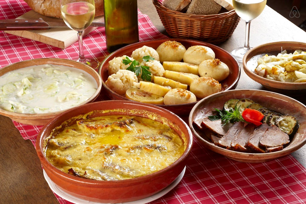 Where to get traditional food in Slovenia