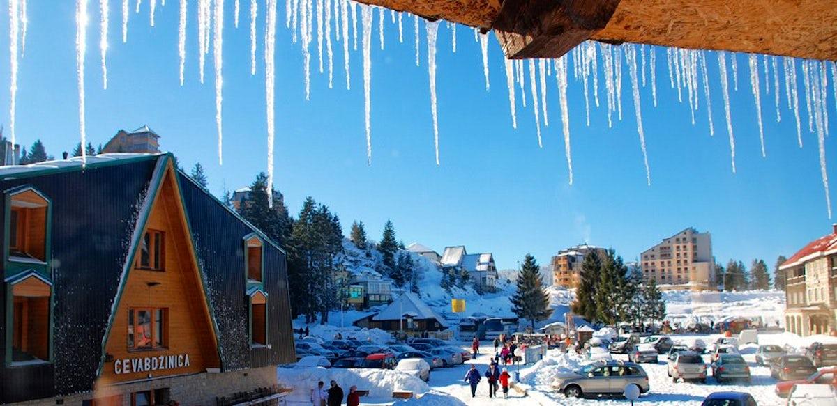 Skiing on a budget – Mt Vlašić