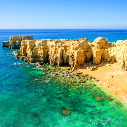 Algarve Beach Encyclopedia! Albufeira pt1