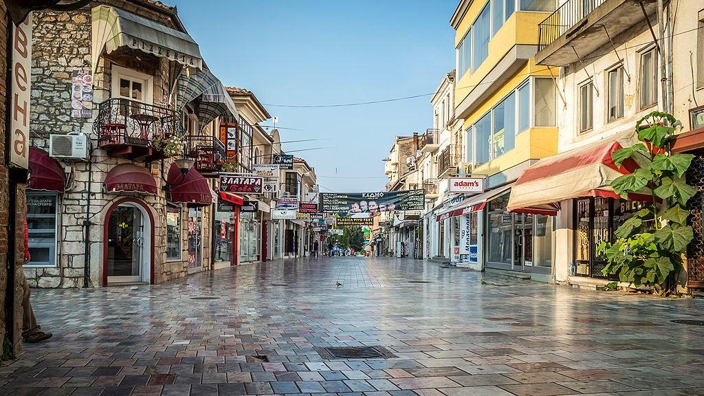 The kaleidoscopic face of Ohrid