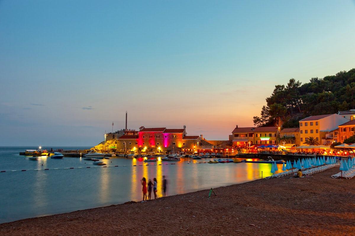 Petrovac - a calm and peaceful Mediterranean place