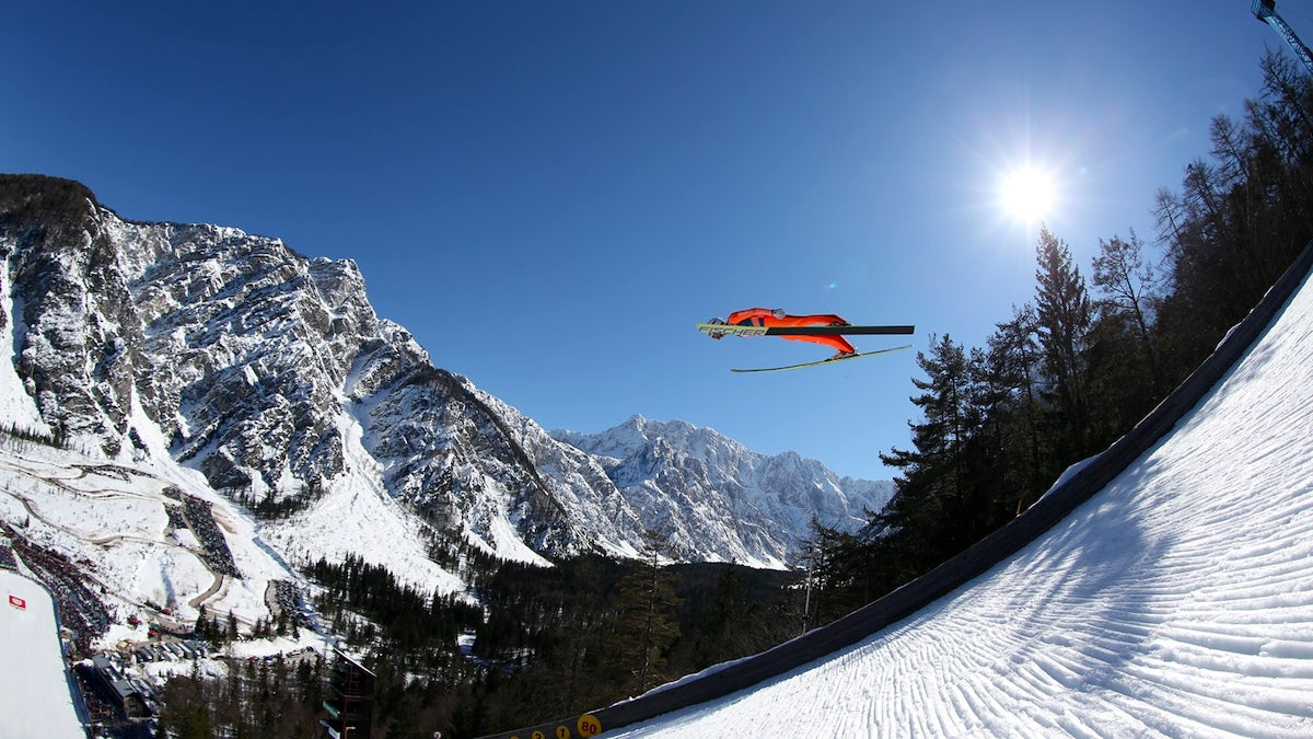 Paradise for fans of flying: Planica