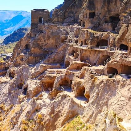 Vardzia, a beautiful cave town