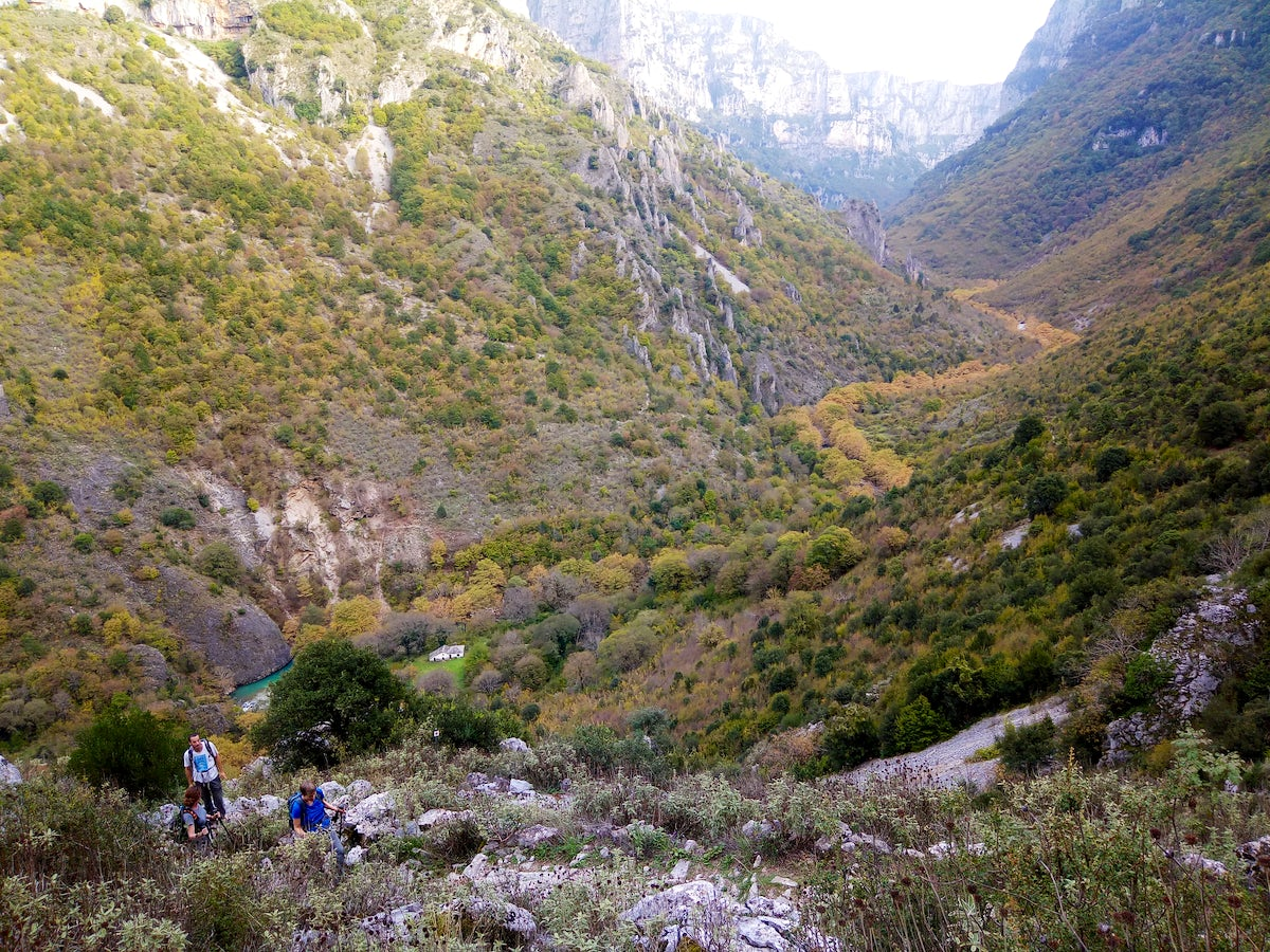 Greek Adventure Project; Zagori Hiking Experience