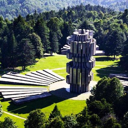 Bosnia's famous aerial spa - Kozara National Park