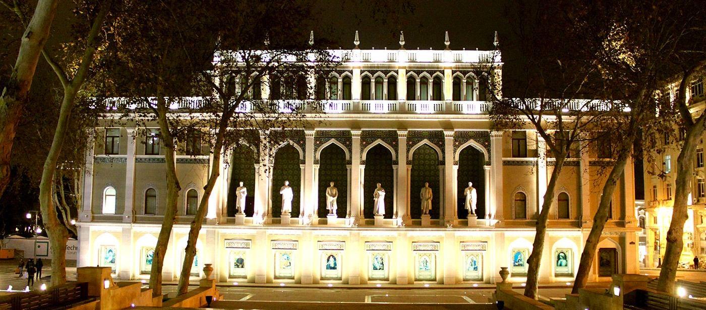 House of Azerbaijani culture: Nizami Museum of Azerbaijani Literature