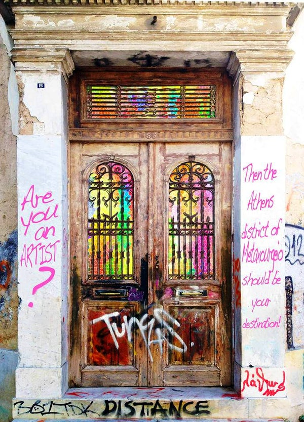 The alternative and hip district of Athens
