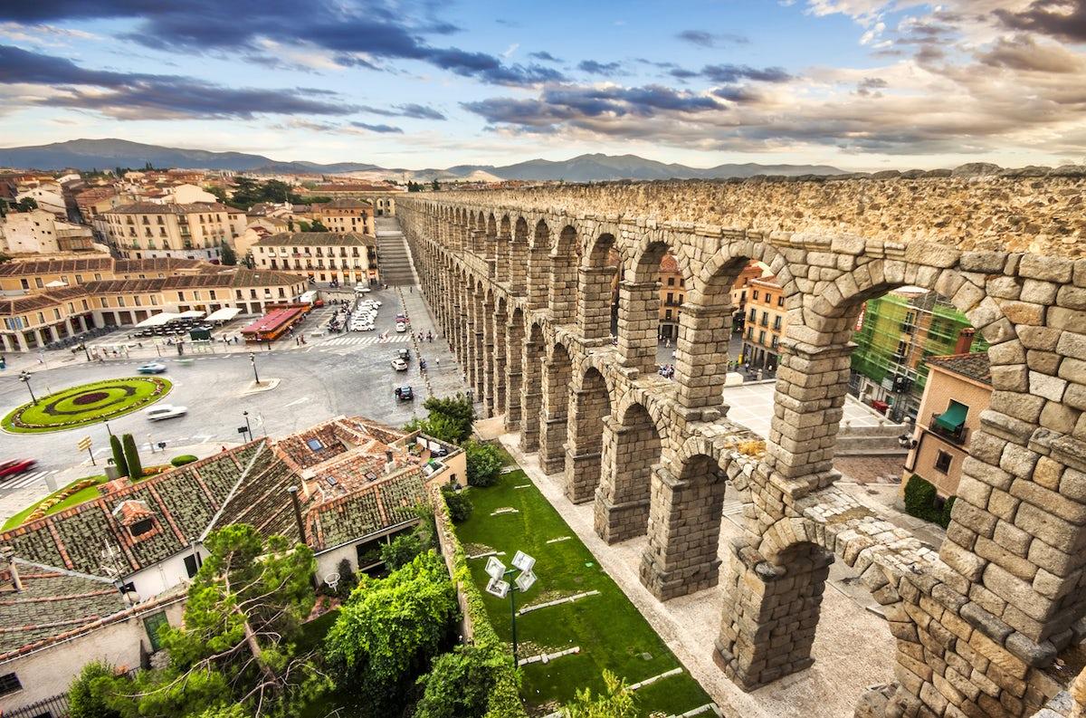 Ancient Architecture in Segovia