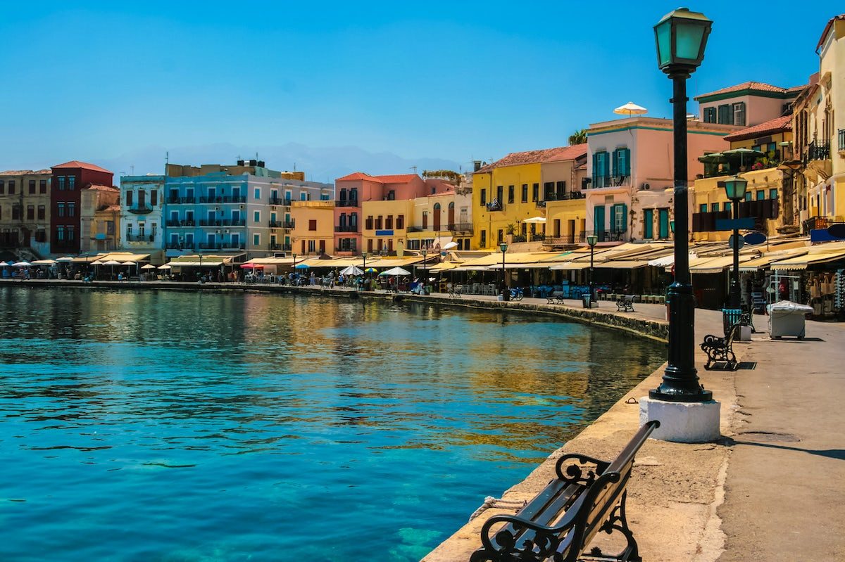 Chania's old town and the Venetian port