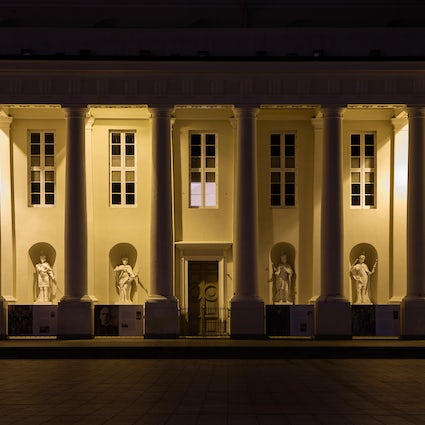 History and mystery in Vilnius Cathedral Square: Crypts