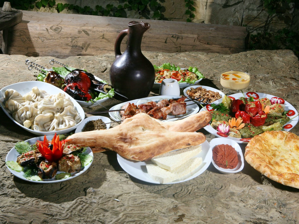 Georgian food at its best