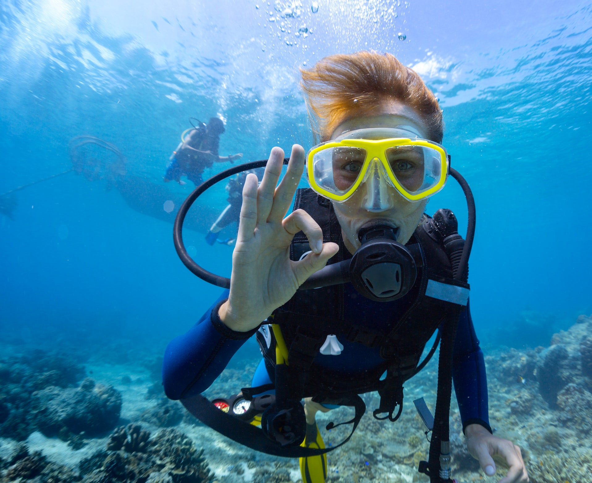 Diving and snorkelling experiences & courses under the Greek sea